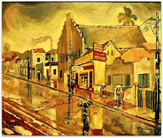 Gastão Hofstaetter - Avenida Cristóvão Colombo (1954)