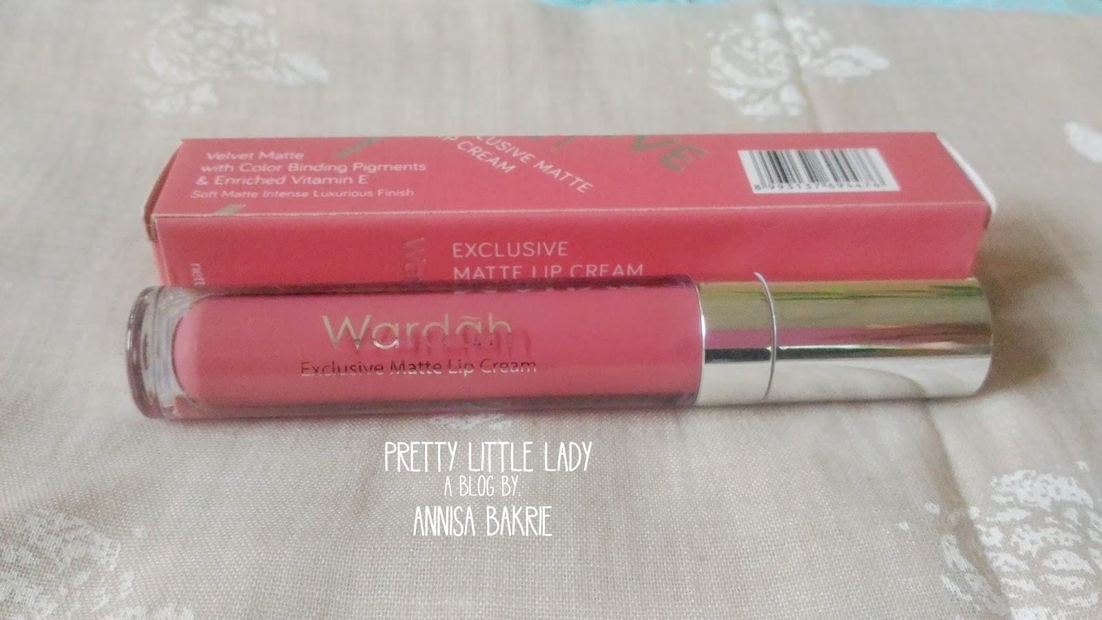 Review Wardah Exclusive Matte Lipcream No9 Mauve On Lip