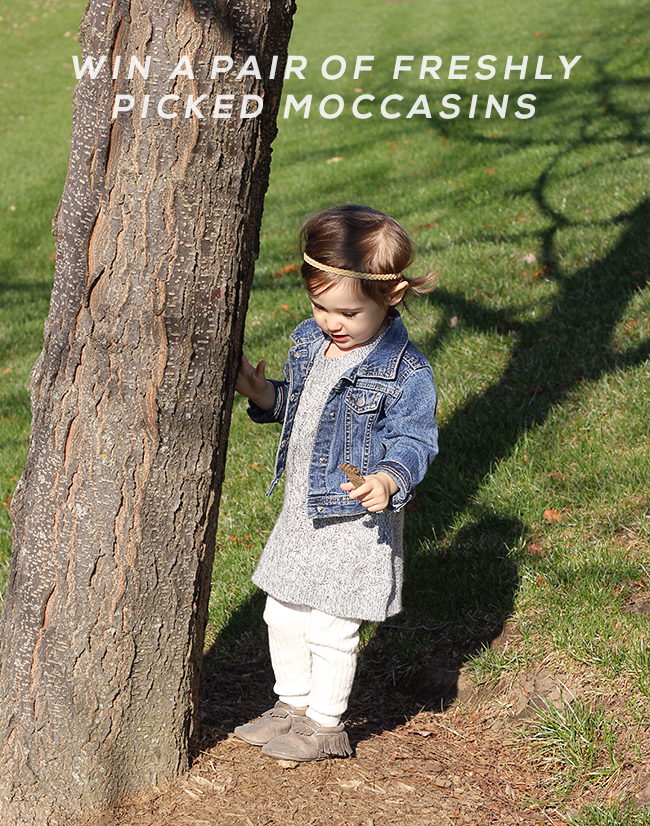 GIVEAWAY // Win a Pair of Freshly Picked Moccasins from Bubby and Bean!