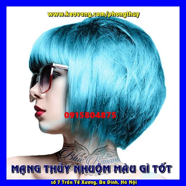 Nhuộm tóc theo phong thuỷ: Mạng Thuỷ nên nhuộm màu gì rước tài lộc may mắn