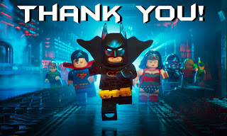 lego batman thank you card