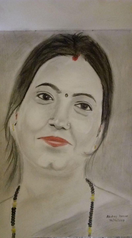 Jyoti kumari drawing bhagalpur