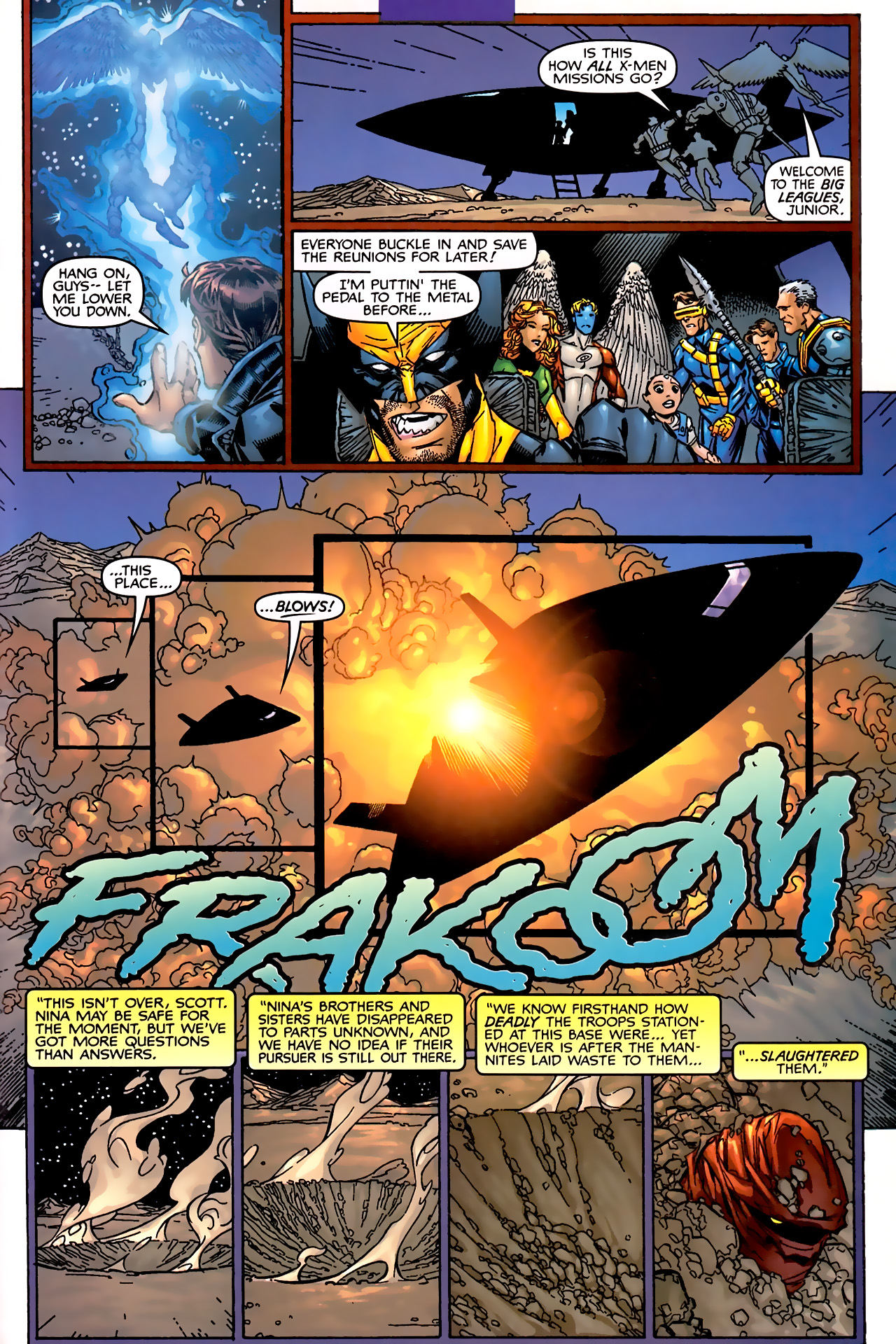 Read online Astonishing X-Men (1999) comic -  Issue #1 - 22