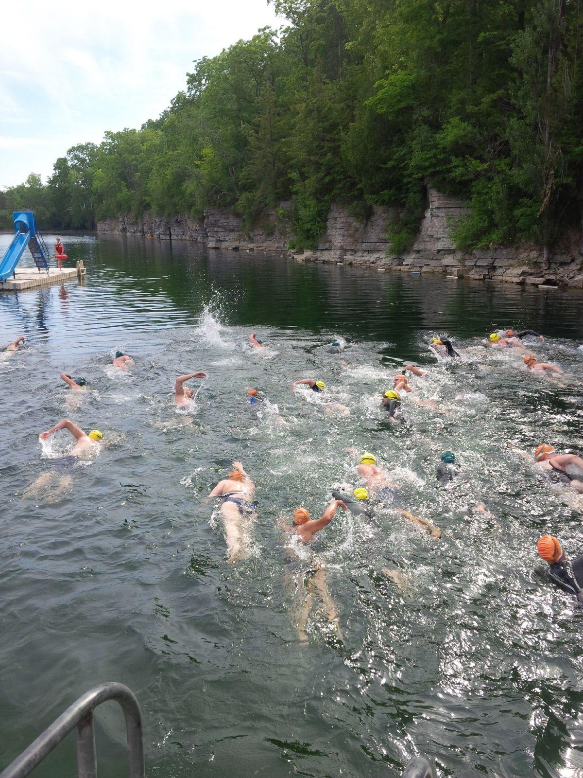 2 Series Kick Off Swims     2 Quarry's | Swim Diesel