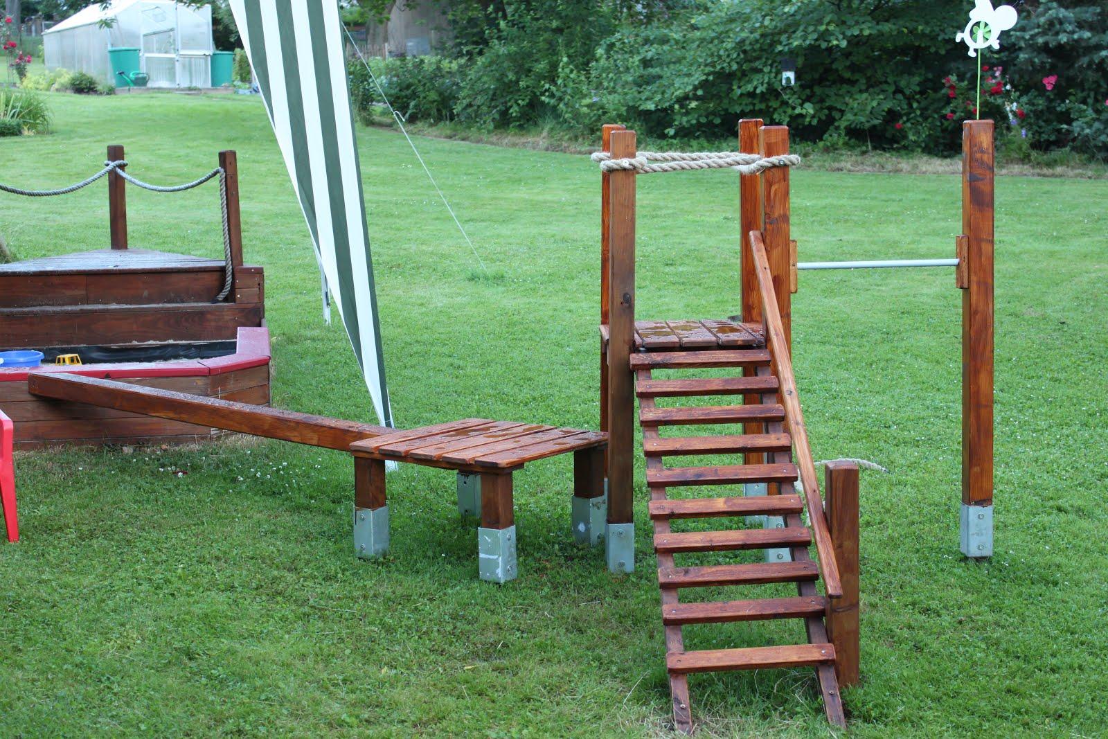 Klettergerüst Garten : Diy klettergerüst garten leben willkommen in unserem kleinen