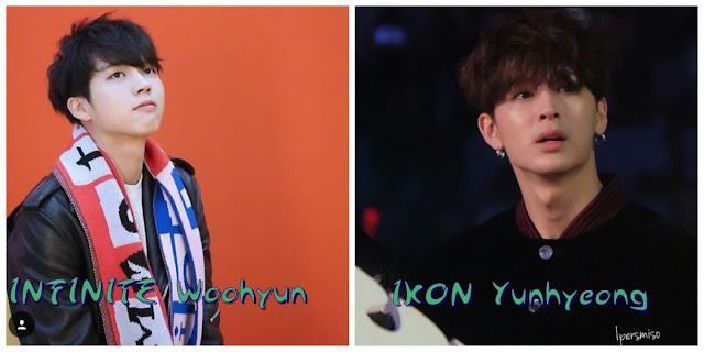 Aynı gün doğan idoller woohyun yunhyeong