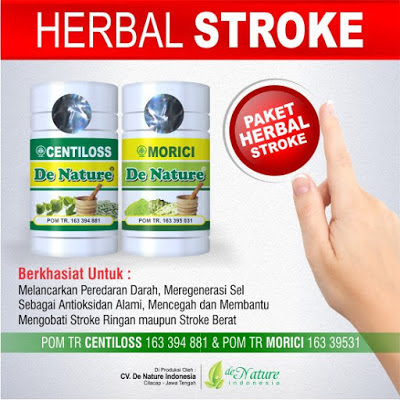 Image Obat Herbal Buat Gejala Stroke
