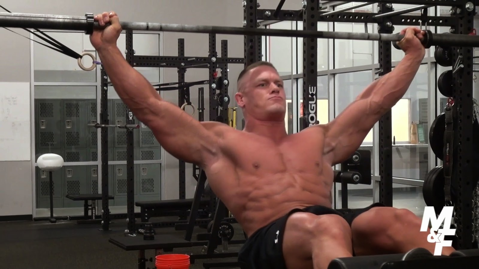 Body building workout and diet plan john cena gym workout - John cena gym image ...