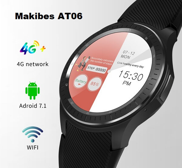 Makibes AT06 Android 4G SmartWatch Specs, Price, Features