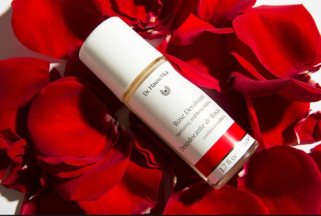 rose deodorant dr. hauschka review