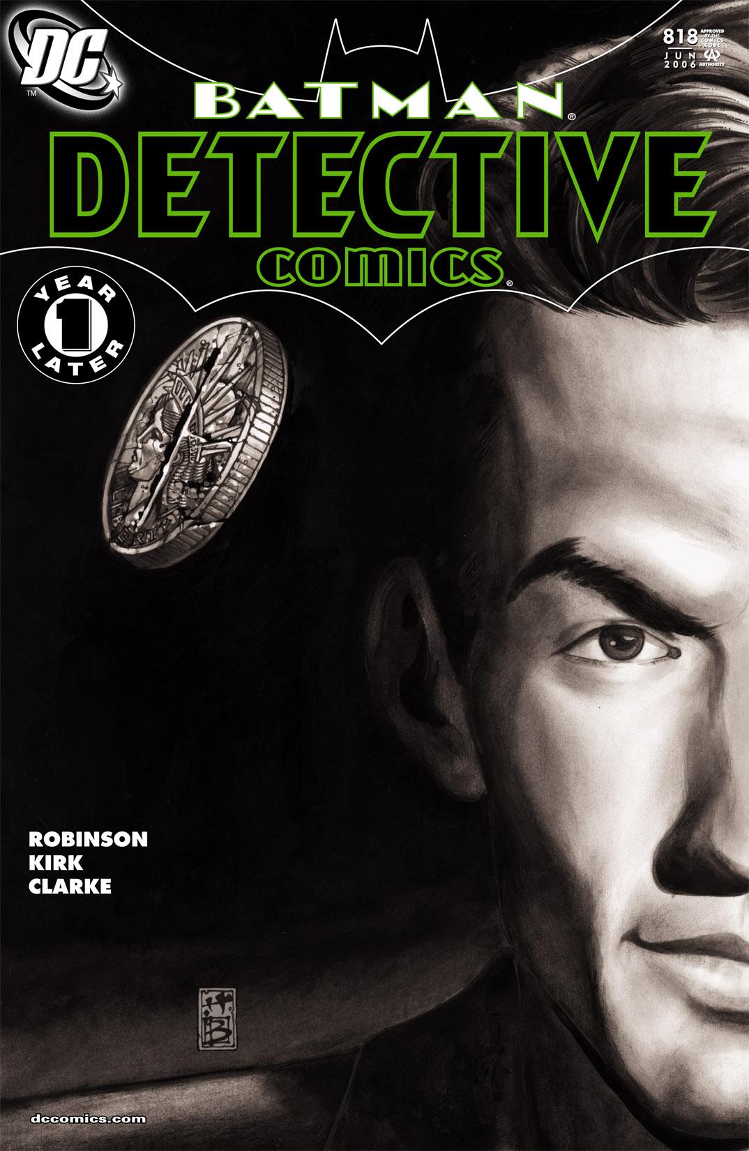 Detective Comics (1937) 818 Page 1
