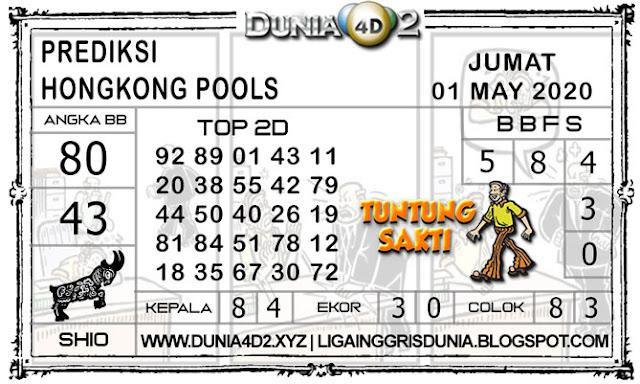 Prediksi Togel HONGKONG DUNIA4D2 01 MAY 2020