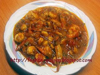 Πικάντικες γαρίδες νηστίσιμες ή με γιαούρτι - από «Τα φαγητά της γιαγιάς»