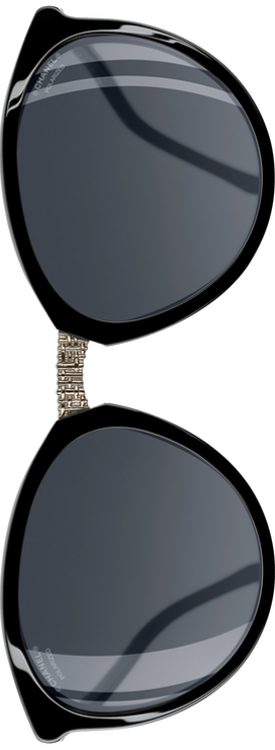 Chanel Winter 2017 Butterfly Sunglasses