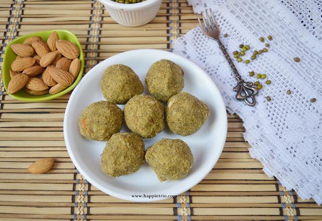 Whole Green Gram Ladoo Recipe | Paasi Payaru Ladoo | Pachai Payaru Ladoo