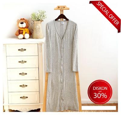 Long cardigan kardigan panjang baju import korea murah