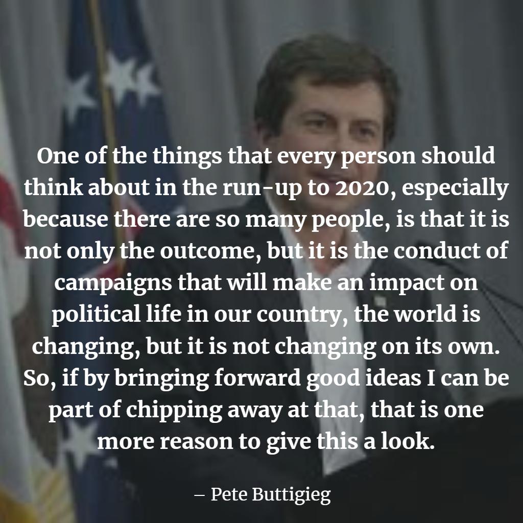 Top Pete Buttigieg Quotes
