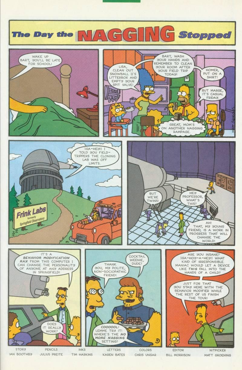 Read online Simpsons Comics comic -  Issue #41 - 24