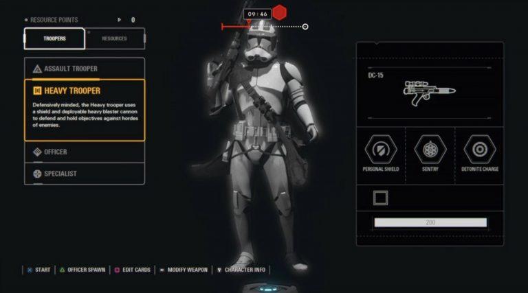Se filtra nueva imagen y vídeo de Star Wars Battlefront 2