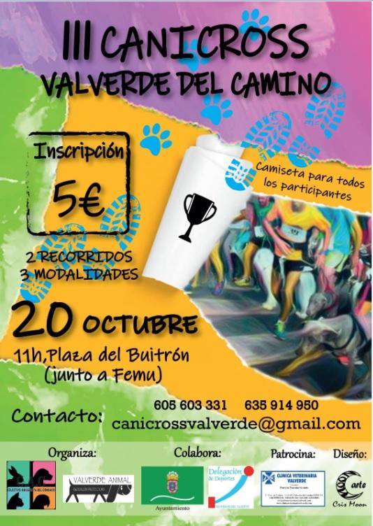 III Canicross de Valverde