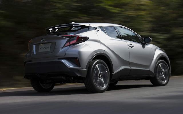 Toyota C-HR lidera vendas de SUVs no primeiro semestre - Japão