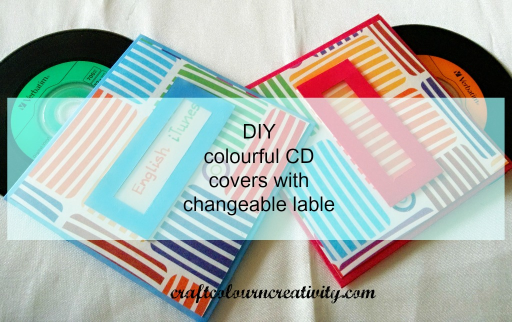 cd covers with changeable label