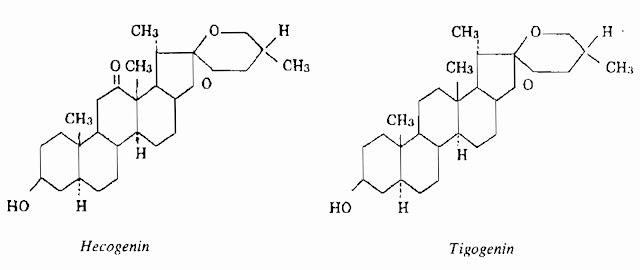 Thành phần hóa học Dứa bà - Agave americana - THÔNG TIỂU TIỆN VÀ THÔNG MẬT