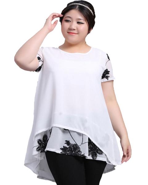model baju blus wanita gemuk
