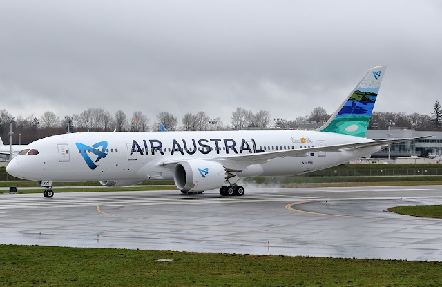 air austral boeing 787-8 dreamliner