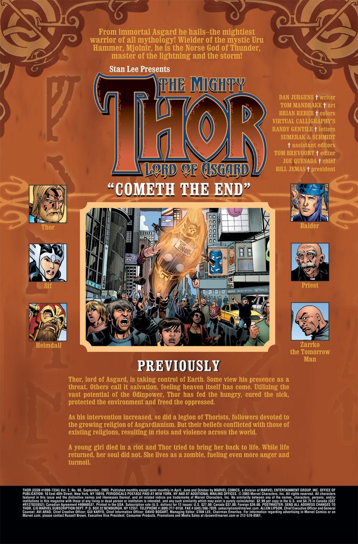 Thor (1998) Issue #66 #67 - English 2