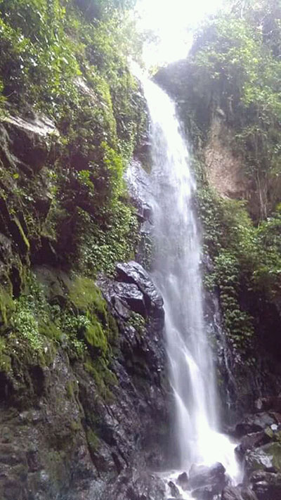 air terjun way kalam
