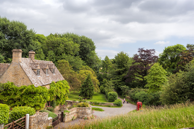 Beautiful village of Duntisbourne Abbots in the Gloucestershire Cotswolds