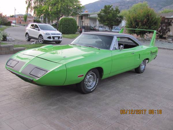 1970 Plymouth Superbird Totally Restored