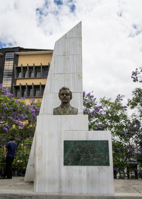 Busto de Enrique Gómez Carrillo