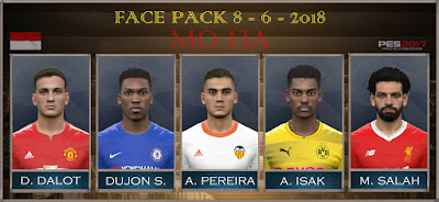 PES 2017 Facepack 8-6-2018 by Mo Ha