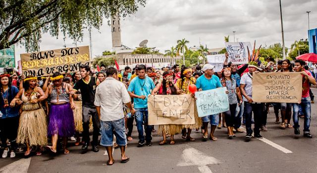#GreveGeral: Estudante agredido por PM está em estado grave (assista ao vídeo)