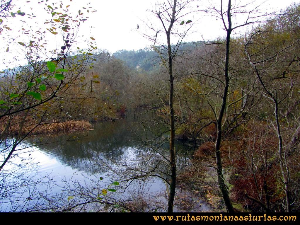 Ruta Artedo, Lamuño, Valsera: Desembocadura del río Uncín
