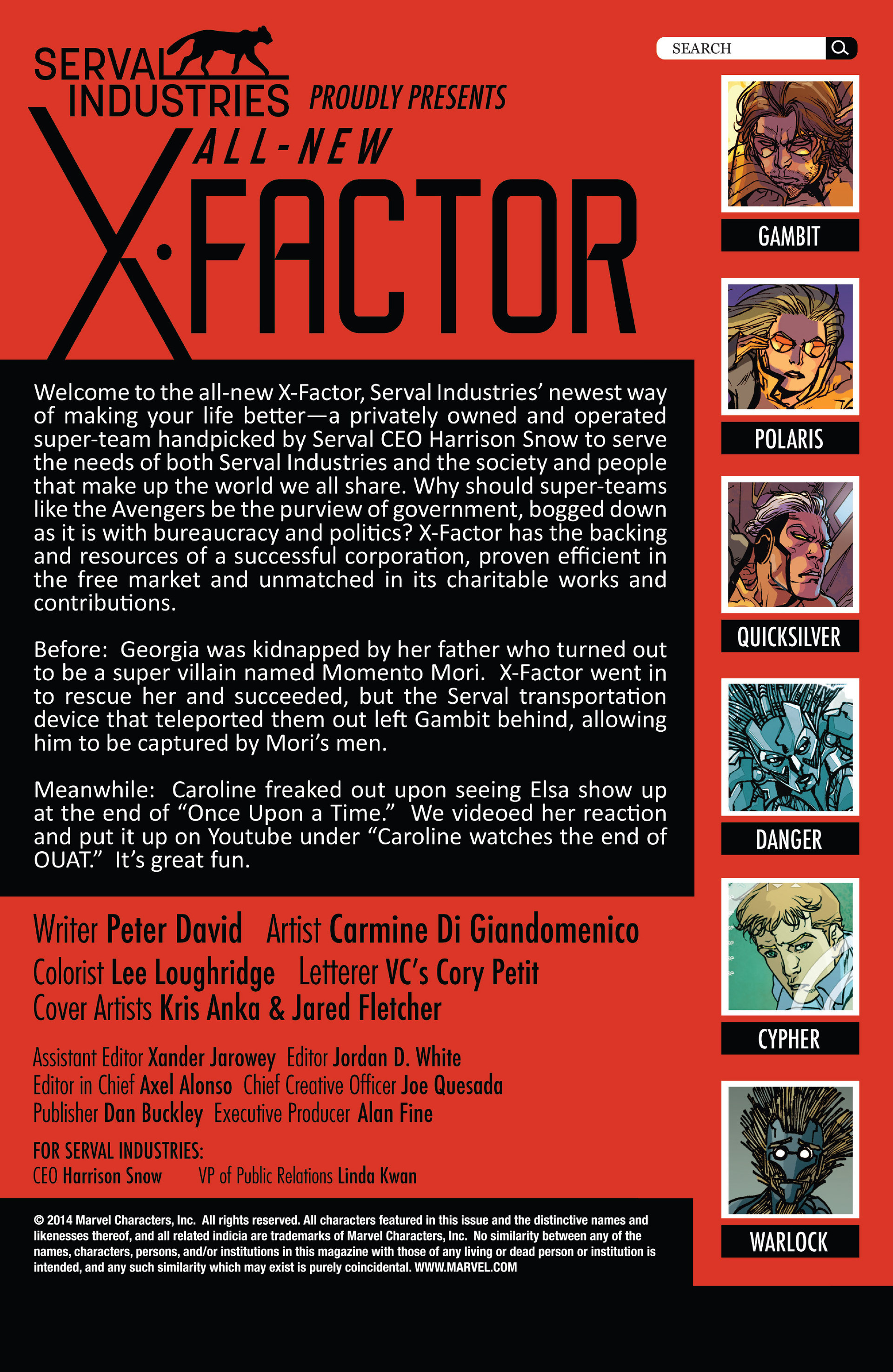 Read online All-New X-Factor comic -  Issue #11 - 2