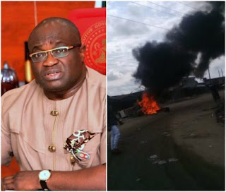 Governor Ikpeazu declares 3-day curfew in Aba following IPOB and Hausa clash