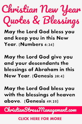 Christian New Year Quotes and Blessings from the Bible