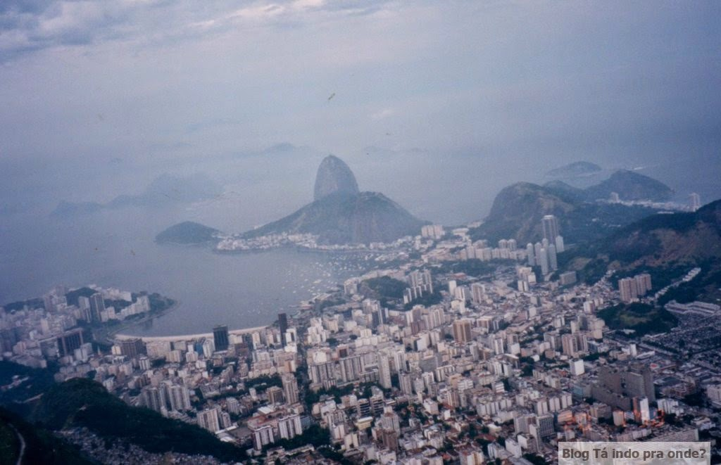 Rio vista do Cristo Redentor