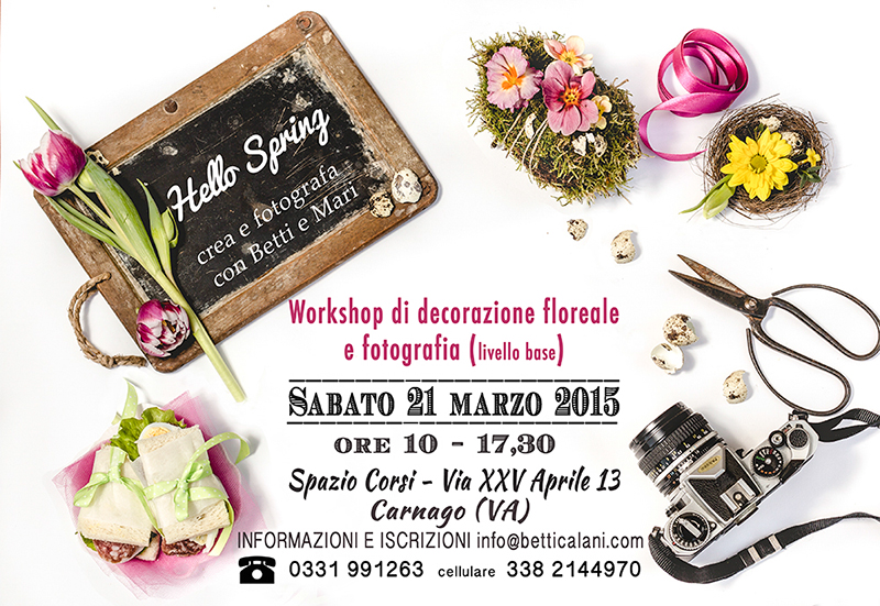Locandina workshop