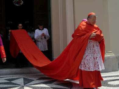 Cardinal Burke in full dress
