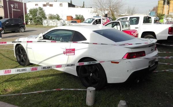 Chevrolet Camaro patrullero Morón