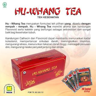 Jual Teh Pelangsing Hu Whang Tea Nasa