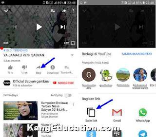 cara unduh video youtube di android