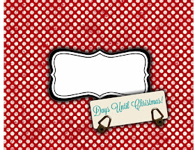 "Download Sweetly Scrapped: Free Printable ""Days Until Christmas"""