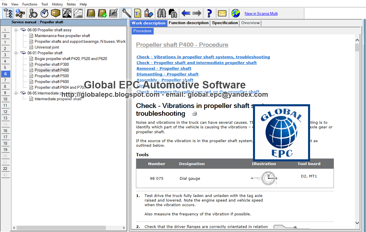 GLOBAL EPC AUTOMOTIVE SOFTWARE: SCANIA MULTI 10 2018 (DVD1810