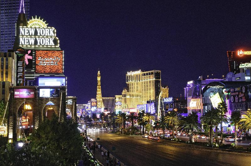 Letreiros em Las Vegas