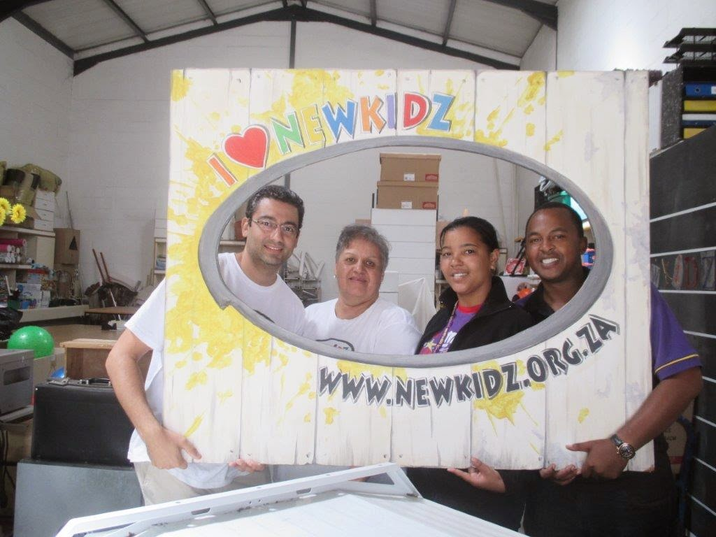 Hollywoodbets Malmesbury with the team from Newkidz On The Block -  Western Cape - Social Responsibility